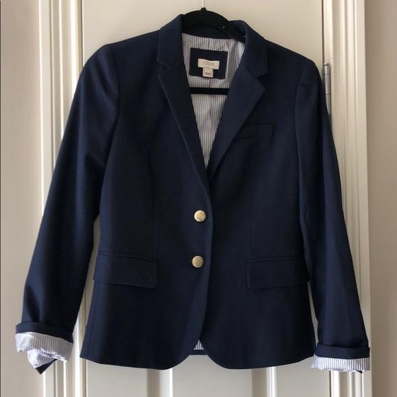 J. Crew Jackets & Blazers - J.Crew navy blazer , new
